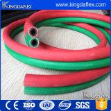 China-Fertigung-SBR/EPDM gemischtes dehnbares Gewebe schnürt synthetischen Sauerstoff-Schlauch