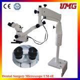 Microscopio estéreo usado del zoom del equipo dental