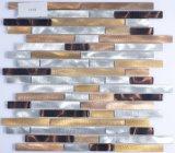 Het Mozaïek van het Aluminium van de Tegels van de Keuken van de Decoratie van de muur