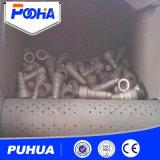 Q32 Ruber Gleisketten-Riemen-Granaliengebläse-Maschine für Ventil-Reinigung