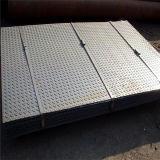 Checkered Sheet A36鉄の鋼鉄穏やかな熱間圧延氏
