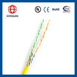 UTP CAT6 0.5mm CCA Daten-Kabel der Innenverkabelung
