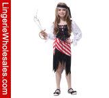 Costume Lodumani Cosplay пирата платья партии Halloween девушок классицистический