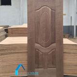 يصمّم أبواب خشبيّة طبيعيّة يكسى باب جلد [مدف] باب جلد