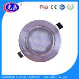 5W beleuchten runde dünne LED Panel-Decke unten