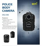 Función de WiFi& GPS del soporte de las cámaras de seguridad de la carrocería de la policía de la vigilancia del CCTV de Senken