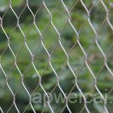 ケーブルの網の塀のステンレス鋼ワイヤーロープの網