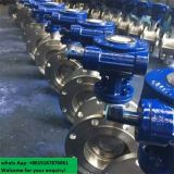 Tipo de flange Aço Triplo Excentric Un Bidirectional Tightness Butterfly Valve