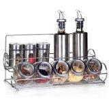 De fantastische Reeksen van de Keuken van de Kruik van de Schudbeker van de Fles van het Glas met Rek