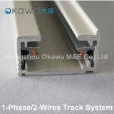 Aluminiumsystem der spur-1-Phase/2-Wires für Lichter
