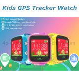 Цветастый вахта отслежывателя GPS экрана для малышей с Sos Boutton