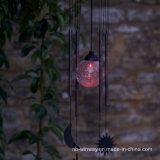 Luz solar de Windbell de la nueva de la yarda 2016 lámpara de la decoración