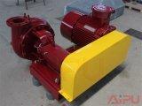 Utilização de bomba de cisalhamento de líquidos de perfuração no sistema de lama de campo petrolífero