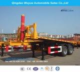 20 voeten 3 de Oplegger van de Stortplaats van de Container van de As of Aanhangwagen van de Vrachtwagen van de Kipper de Semi