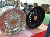La aleación del coche del BBS RS rueda bordes