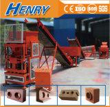 Hr2-10 Lego automatischer hydraulischer hohler blockierenblock, der Maschinen-Lehm-Ziegeleimaschine-Preis bildet