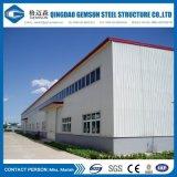 Costruzione prefabbricata del magazzino del gruppo di lavoro della struttura d'acciaio di disegno