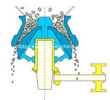Коническая дробилка весны Symons CS с высоким качеством