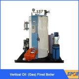 Chaudière à vapeur verticale au fuel utilisée industrielle de gaz
