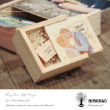Коробка Hongdao деревянная для USB внезапного Drive_I