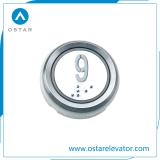 警察官のための押しボタンスイッチ、乗客のエレベーターの押しボタンまたはLOP (OS43)