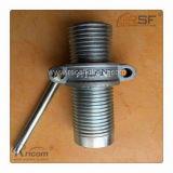 Noix en acier réglable galvanisée de support de coffrage d'échafaudage de construction