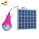 2017 nuovo kit solare ricaricabile solare della lampada 3W del LED per l'indicatore luminoso di campeggio Sre-99g-1 della casa