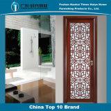 Porte décorative en aluminium de tissu pour rideaux des graines en bois de santal de type chinois