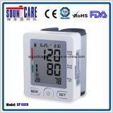 Moniteur électronique médical de pression sanguine de poignet de Digitals (point d'ébullition 60EH) avec la caisse d'ABS