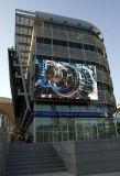 옥외 디지털 매체 혁신적인 장비 고해상 큰 기둥 LED 스크린