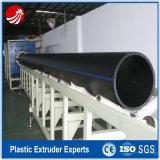 Extrusora plástica da tubulação de água do gás do HDPE