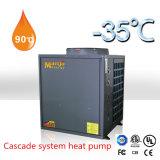 -35程度のEviのヒートポンプの給湯装置で働く低放射能区域のための130kw熱容量