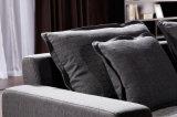 Sofá de la tela de la sala de estar de los muebles del hogar del diseño moderno fijado (HC8110B)