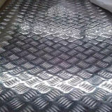 Folha de alumínio gravada estuque 3003 do teste padrão da casca alaranjada
