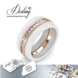 De Kristallen van de Juwelen van het lot van Swarovski 3 de Ring van Overlappingen