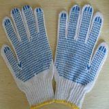 Kurbelgehäuse-Belüftung punktierte Baumwollarbeitshandschuhe von Guangzhou Suppier