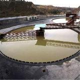Máquina do espessador do minério do ouro para os concentrados e as pedras salientes que secam