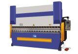 Servoverbiegende Stahlmaschine CNC-80t-2500 mit Mittellinie 4 (Y1, Y2, X, W) Delem