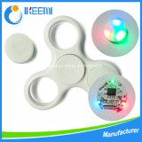 Nuevo diseño Fidget Spinner Juguetes EDC Spinner mano con luz LED