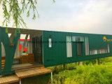 Полуфабрикат передвижной контейнер для перевозок как живущий дом с ванной комнатой