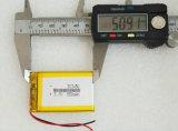 batería del polímero del Li-ion del litio de la batería de 3.7V 550mAh 303450 Lipo pequeña