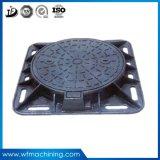 OEM Cinza/ Ferro Ductil Qt500-7 Praça/ Redonda Manhole Covers de Ferro Fundido Manhole Covers