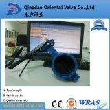Feito em China, válvula de borboleta da bolacha da alta qualidade da precisão do OEM de Alibaba Dn600 com preço