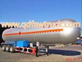 3-as 55cbm Aanhangwagen van de Vrachtwagen van de Tank van het Vervoer van het Gas van LPG de Semi
