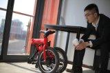 bicicleta elétrica Foldable do lítio 16inch com câmara de ar BMS da sela (16F01)
