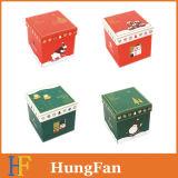 Boîte à coques personnalisée pour cadeau en papier pour Noël