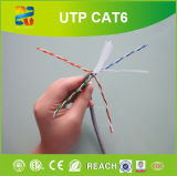 Chat de cuivre nu de conducteur. 6 UTP 23AWG