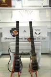Seule guitare électrique sans tête dans le corps de commande numérique par ordinateur d'alliage d'aluminium (AD100)