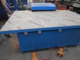 Doppio/cavità isolare/ha isolato la macchina calda di vetro della pressa del rullo