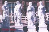 Dio di quattro stagioni, marmo di pietra, scultura di marmo (GS-GS-005)